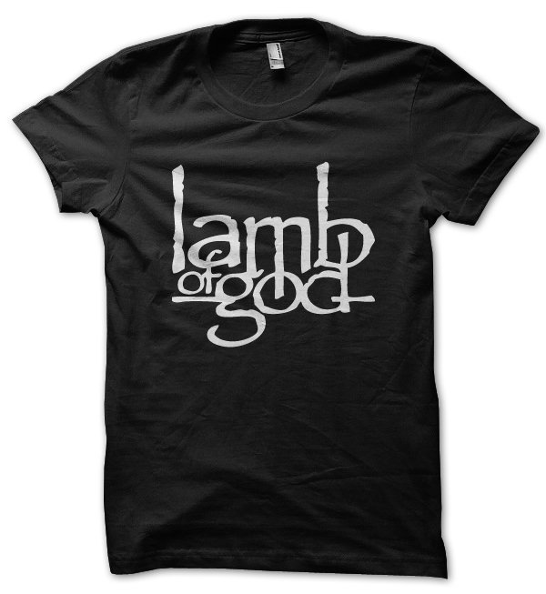 Lamb of God rock band metal music t-shirt by Clique Wear