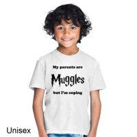 My Parents are Muggles t-shirt by Clique Wear