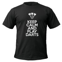 Keep Calm and Play Darts t-shirt by Clique Wear