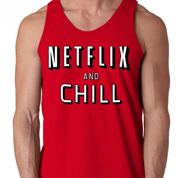 Netflix and Chill vest by Clique Wear