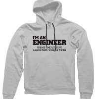 Im an engineerhoodie by CliqueWear