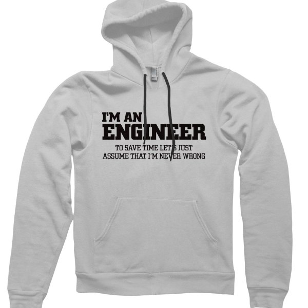 Im an engineerhoodie by CliqueWear