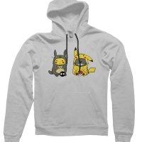 Pikachu Totoro hoodie by CliqueWear