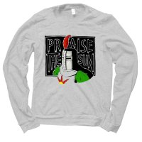 Praise the Sun jumper by Clique Wear