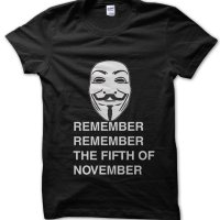 Remember Remember Fifth of November t-shirt by Clique Wear