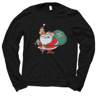 Santa Pirate Christmas jumper by Clique Wear