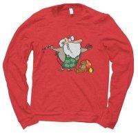Santa Workshop Christmas jumper by Clique Wear