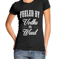 Fueled by Vodka and Weed t-shirt by Clique Wear