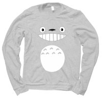 Totoro face jumper by Clique Wear