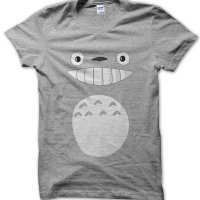 Totoro face t-shirt by Clique Wear