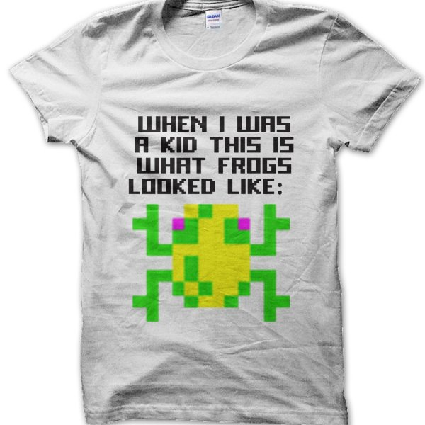 When I Was a Kid this Is What Frogs Looked Like t-shirt by Clique Wear