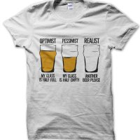 Realist Another Beer Please t-shirt by Clique Wear
