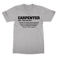 Definition of a Carpenter t-shirt by Clique Wear