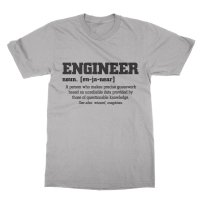 Definition of an engineer t-shirt by Clique Wear