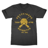 Gryffindor team captain t-shirt by Clique Wear