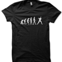 Evolution of a Baseball Player t-shirt by Clique Wear