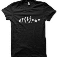 Evolution of a Bodybuilder t-shirt by Clique Wear