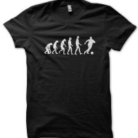 Evolution of a Footballer t-shirt by Clique Wear