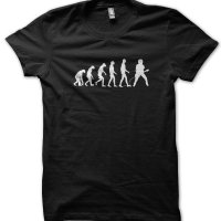 Evolution of a Guitarist t-shirt by Clique Wear