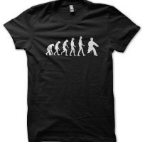 Evolution of a Kungfu Master t-shirt by Clique Wear