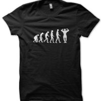 Evolution of a Muscleman t-shirt by Clique Wear