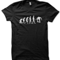 Evolution of a Skateboarder t-shirt by Clique Wear