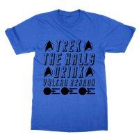 Trek the Halls drink Vulcan Brandy t-shirt by Clique Wear