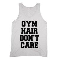 Gym Hair Don't Care vest by Clique Wear