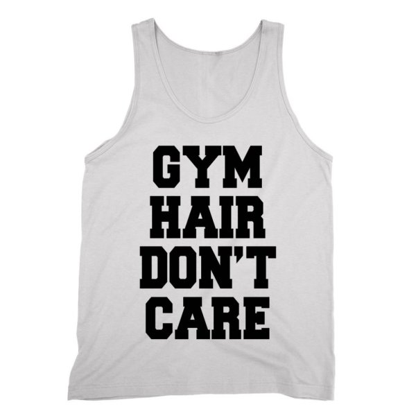 Gym Hair Don't Care vest by Clique Wear