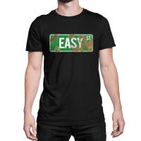 Walking Dead Easy Street rusted sign t-shirt by Clique Wear