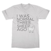 I Was Normal Three Sheep Ago t-shirt by Clique Wear