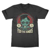 Feed the Zombies t-shirt by Clique Wear