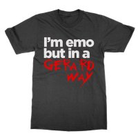 Im emo but in a Gerard Way t-shirt by Clique Wear