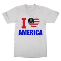 I Love America t-shirt by Clique Wear