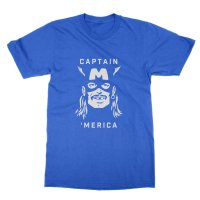 Captain Merica t-shirt by Clique Wear