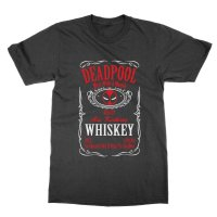 Deadpool Whiskey t-shirt by Clique Wear