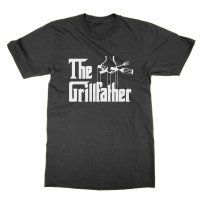 The Grillfather t-shirt by Clique Wear