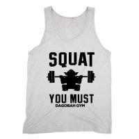 Squat You Must Dagobah Gym vest by Clique Wear