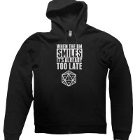 When the DM Smiles Its Already Too Late hoodie by Clique Wear