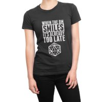 When the DM Smiles Its Already Too Late t-shirt by Clique Wear