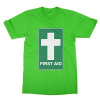 First Aid Jesus t-shirt by Clique Wear