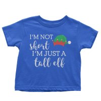 I'm Not Short I'm Just a Tall Elf t-shirt by Clique Wear