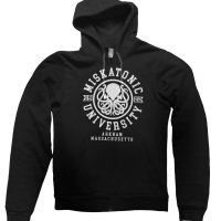 Miskatonic University hoodie by Clique Wear