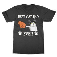 Best Cat Dad Ever t-shirt by Clique Wear