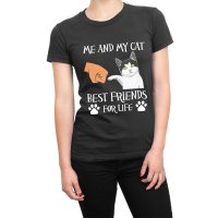Me and My Cat Best Friends For Life t-shirt by Clique Wear