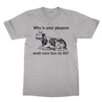 Why is your pleasure cow t-shirt by Clique Wear