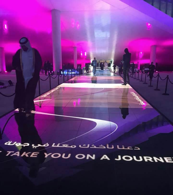 LED carpet
