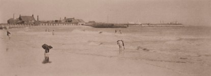 On Gorleston Sands 1880 - Photograph by Peter Henry Emerson