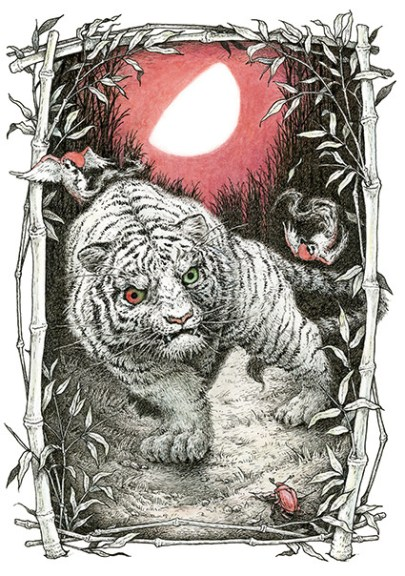 虎と月 - Tiger and the Moon