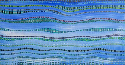 Life Weaving Series (Blue)